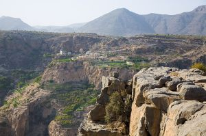 Jebel Akhdar Mountain range