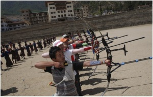 National sport of Bhutan Archery
