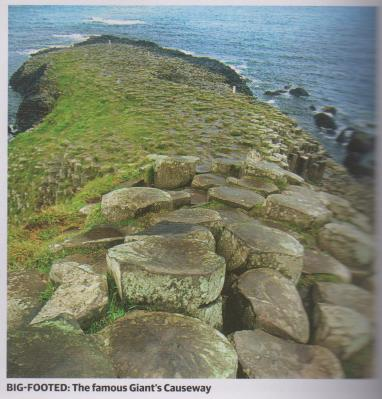 big footed - giant's causeway