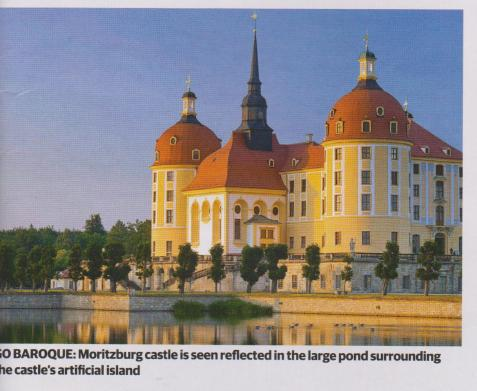moritzberg castle