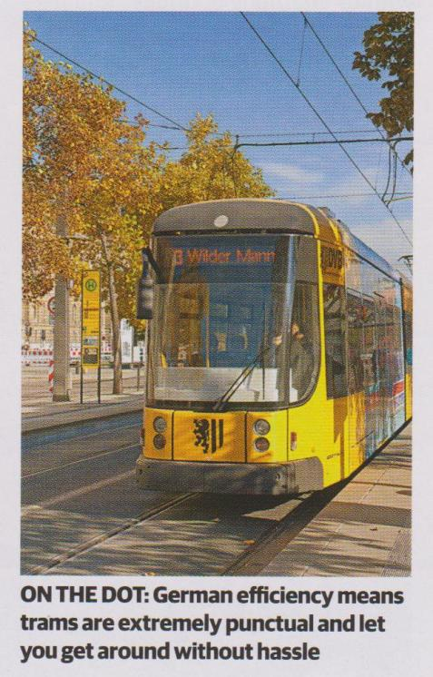 on the dot-trams