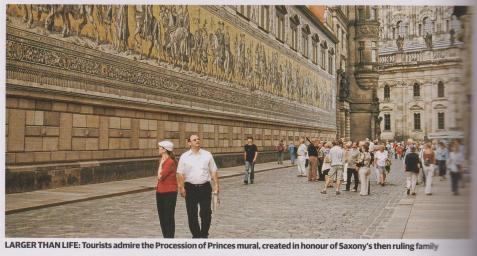 pricession of princes mural