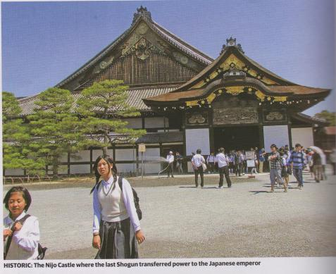 historic nijo castle