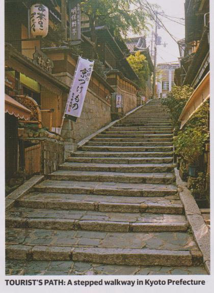 stepped walkways
