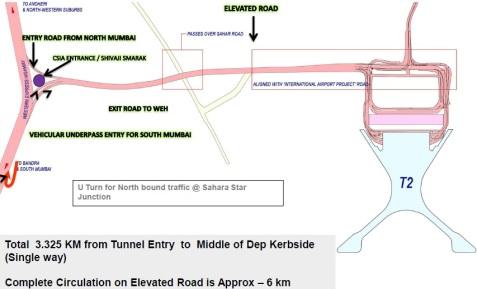 mumbai t2 map