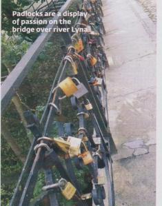 bridge over river lyna