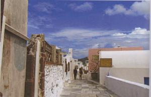 oia village street
