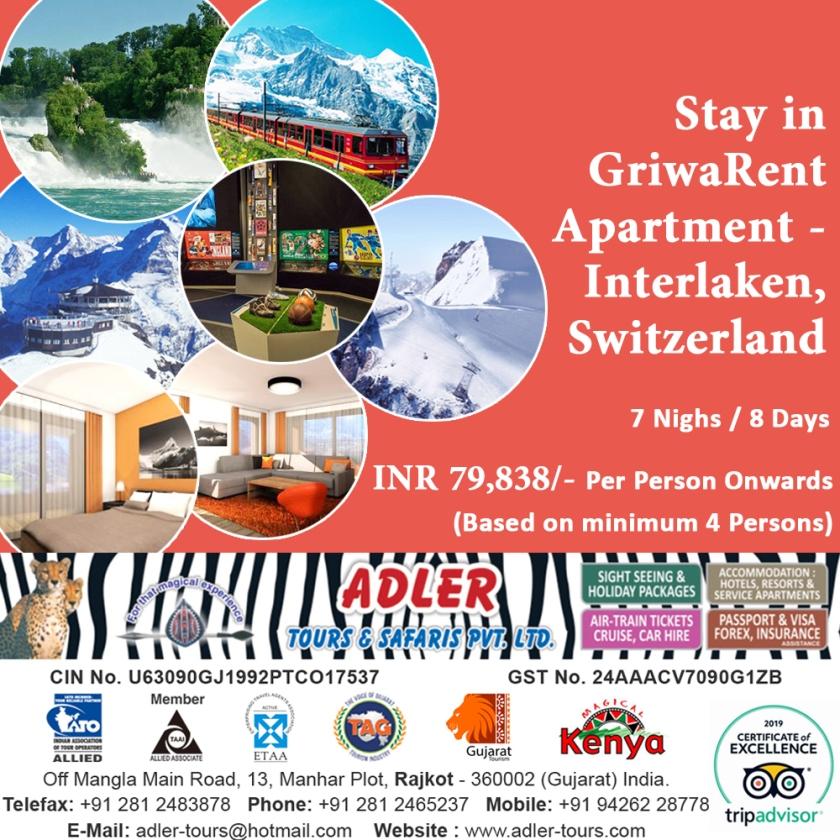 Griwarent Apartment - Interlaken copy