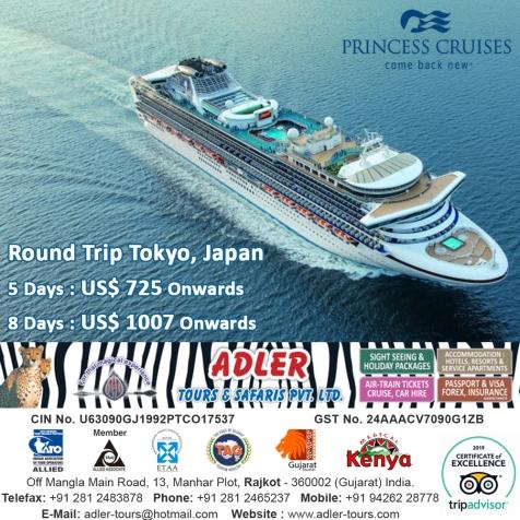 Princess Cruises Japan copy