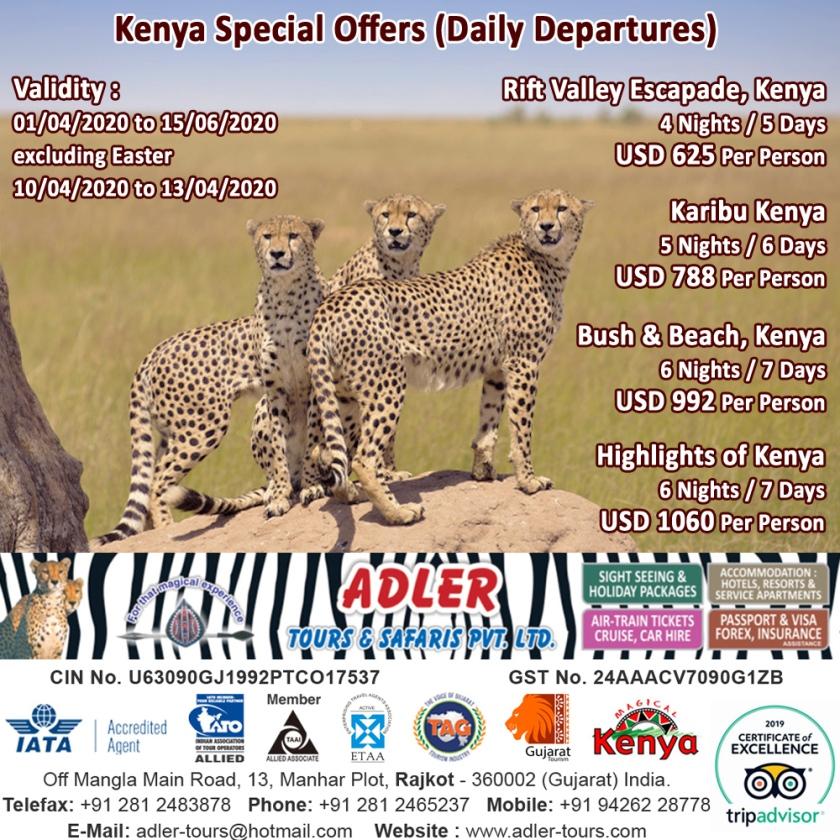 kenya packages copy
